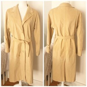 Vintage Count Romi Ultra Suede Trench Coat